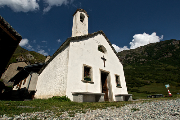 A church in Formazza